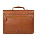 Lucca Briefcase,  tan, regular