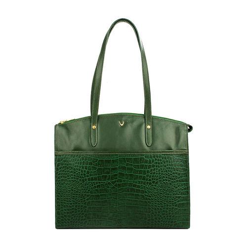 Sb Fabiola 01 Women s Handbag, Croco Melbourne Ranch,  emerald green
