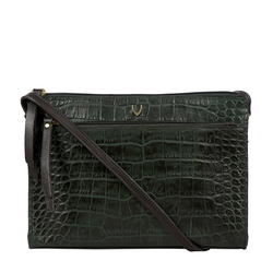 Spruce 02 Sb Women's Handbag Croco,  emerald green