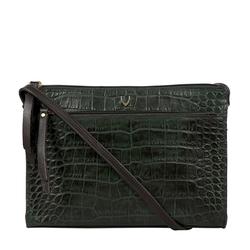 Spruce 02 Sb Women's Handbag Croco,  emerald green