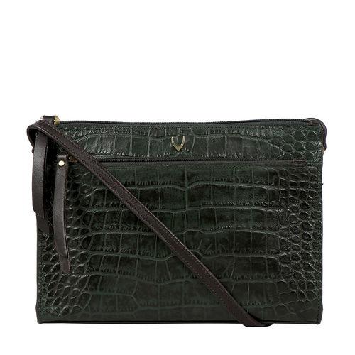 Spruce 02 Sb Women s Handbag Croco,  emerald green