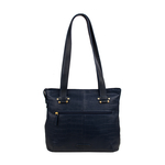 Courtney 03 Handbag,  black, croco
