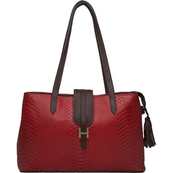 Sb Silvia 02 Women's Handbag, Snake Ranchero,  red