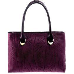 Yangtze 02 Handbag, elephant,  aubergine