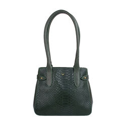 Shanghai 03 Sb Women's Handbag, Snake Melbourne Ranch,  emerald green