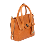 Varzy Women s Handbag Ostrich,  tan