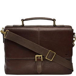 Merlin 03 Briefcase,  brown, siberia