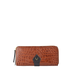 Scorpio W2 Sb (Rf) Women's Wallet, Croco Melbourne Ranch,  tan