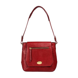 Taurus 02 Women's Handbag, Lizard Melbourne Ranch,  red