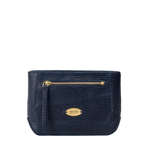 Taurus W1 (Rfid) Women s Wallet, Lizard Melbourne Ranch,  midnight blue