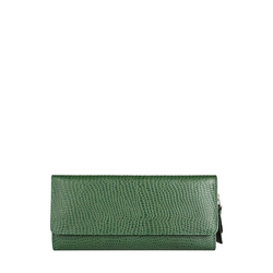 526 (Rfid) Women's Wallet, Lizard Melourne Ranch,  green