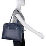 Hong Kong 01 Sb Women s Handbag, Lizard Melbourne Ranch,  midnight blue