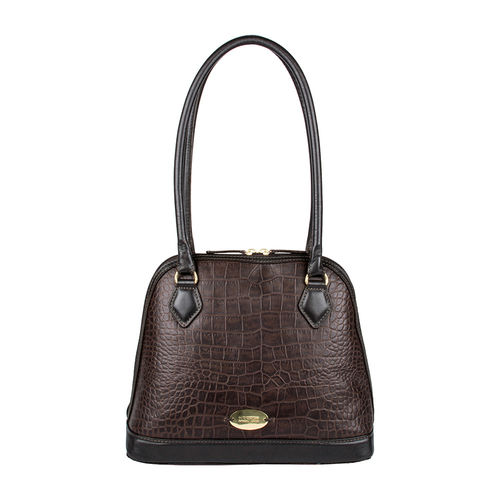 Ee Cleo 02 Women s Handbag, Croco,  brown
