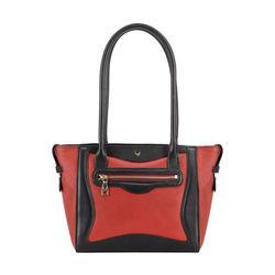 HIDESIGN X KALKI BOSS 01 WOMEN'S SHOULDER BAG WAXED SPLIT,  red