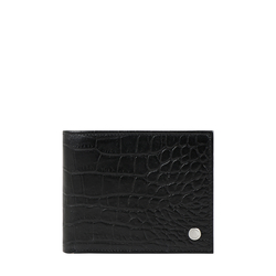 Atlas W1 Sb (Rf) Men's Wallet Croco,  black