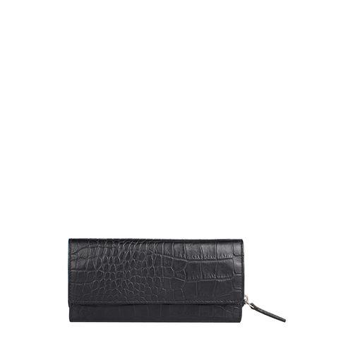 526 (Rfid) Women s Wallet, Croco,  black