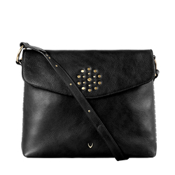 HIDESIGN X KALKI WITCH 01 SLING BAG IDAHO SPLIT,  black
