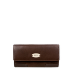Amethyst W3 Women s Wallet, Ranchero Cow Escada Lamb,  brown, ranchero