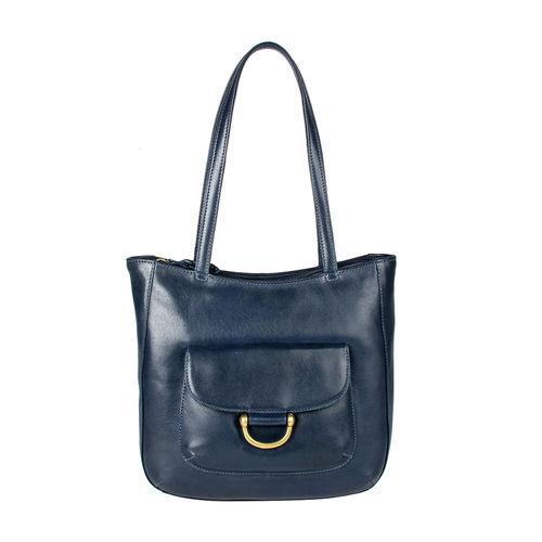 Chestnut 01 E. I Women s Handbag, E. I. Sheep Veg,  midnight blue
