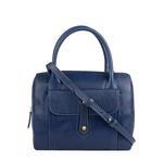 Hong Kong 03 Sb Women s Handbag, Lizard Melbourne Ranch,  midnight blue