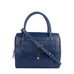 Hong Kong 03 Sb Women's Handbag, Lizard Melbourne Ranch,  midnight blue
