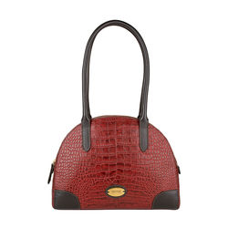 Saturn 03 Sb Women's Handbag, Croco Melbourne Ranch,  red