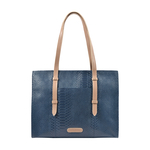 Virgo 02 Sb Women s Handbag, Snake Melbourne Ranch,  midnight blue