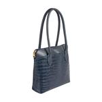 Sb Fabiola 02 Women s Handbag Croco,  midnight blue