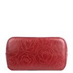 Rose 03 Women s Handbag, Rose Emboss Mel Ranch Split,  red