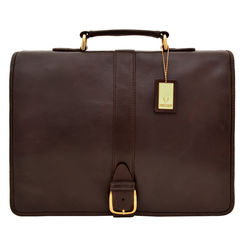 Bolton Briefcase, regular,  brown