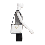 Dumas 01 Women s Handbag Melbourne Ranch,  white