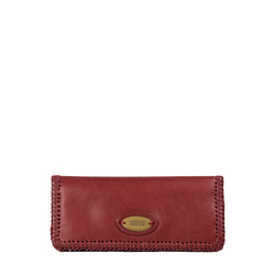 Amber W3 (Rfid) Women's Wallet, Roma,  red
