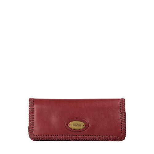 Amber W3 (Rfid) Women s Wallet, Roma,  red