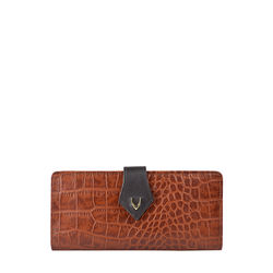 Scorpio W1 Sb (Rf) Women's Wallet, Croco Melbourne Ranch,  tan
