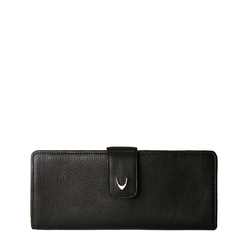 Rhone Women's Wallet, Deer Lamb, deer,  black