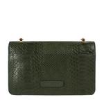Delilah 01 Women s Handbag Snake,  green