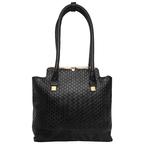 Shinjuku 01 Women s Handbag, Woven Ranch,  black