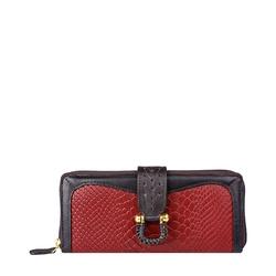 Ee Frieda W2 Women's wallet, Snake,  marsala