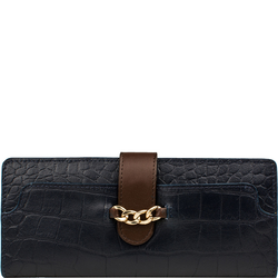 Sb Atria W1 Women's Wallet, Croco,  midnight blue, croco