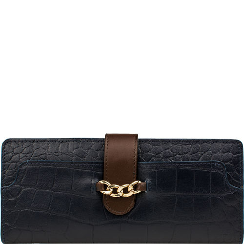 Sb Atria W1 Women s Wallet, Croco,  midnight blue, croco