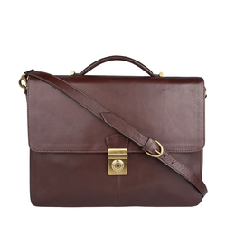 Scaffell Pike 03 Briefcase,  brown