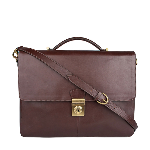 Scaffell Pike 03 Briefcase,  brown