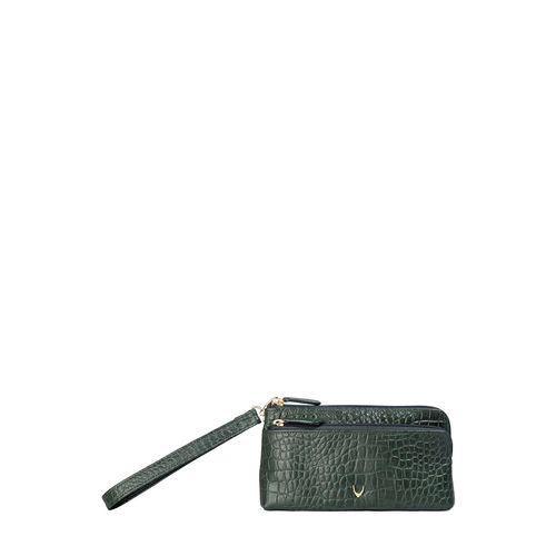 Sb Paola W1 Women s Wallet, Croco,  emerald green