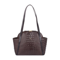 New York 01 Sb Women's Handbag, Baby Croco Melbourne Ranch,  brown