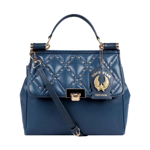 POP 03 WOMENS HANDBAG LAMB,  midnight blue