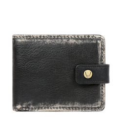 381-L105 RF MENS WALLET AFGHAN,  black
