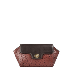 Sb Atria 04 Women's Handbag Ostrich,  brown