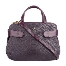 Brigitte 02 Handbag,  aubergine
