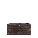 Hongkong W3 Sb (Rfid) Women s Wallet Croco,  brown