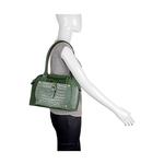 Mercury 01 Sb Women s Handbag, Cow Croco Melbourne Ranch,  green